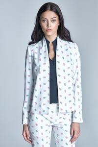 Ecru Office Style Ladies Blazer