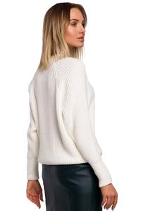 Simple Long Sleeve Sweater (Ecru)