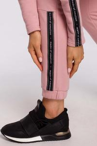 Sweatpants with Stripes (Powder)