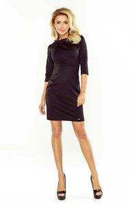 Black Mini 3/4 Sleeves Dress