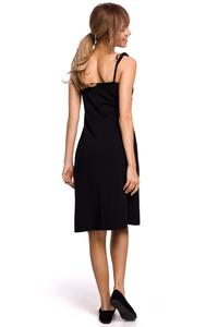 Cotton Strappy Dress (black)