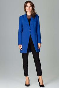 Blue Long Elegant Blazer