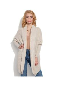 Beige Long Stylish Cardigan