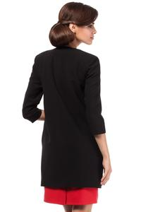 Black Elegant Long Blazer