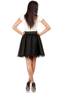 Black Dreamy Princess Tutu Prom Skirt