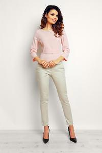 Pink Elegant Short Blouse