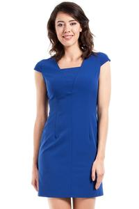 Blue Super Slim Fit Mini Dress