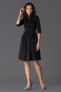 Black Sassy Full Swing Ruby Dress