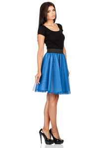 Royal Blue Dreamy Princess Tutu Prom Skirt