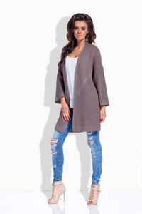 Cappuccino Loose&Long Cardigan