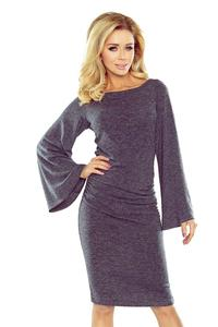Dark Grey Knitted Dress