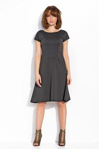Black Simple Casual Style Dress