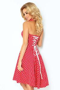 Red&White Polka Dot Pin-up Girl Style Dress