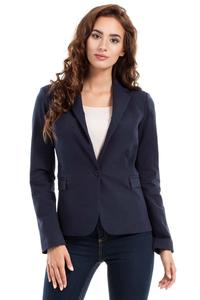 Dark Blue Classic Ladies Blazer