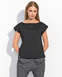 Black Classic Plain Ladies T-shirt