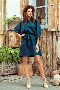 Green Butterfly Dress with Belt