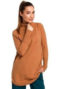 Kamel Sweater-Tunic with turtleneck