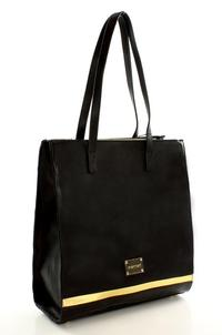 Black Shoulder Straps City Style Ladies Bag