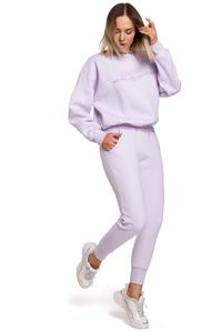 Knit Pants with Pockets (Lilac)
