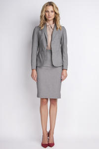 Houndstooth Elegant Ladies Blazer