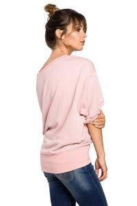 Powdre Pink Oversized Blouse