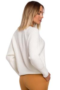 Classic Round Neck Sweater (Ecru)