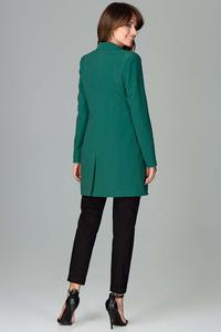 Green Long Elegant Blazer