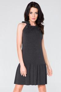 Black Summer Frilled Dress