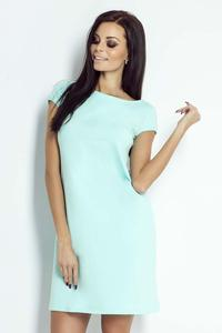 Mint Mini Dress with Bow at The Back