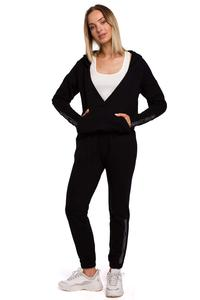 Sweatpants with Stripes (Black)