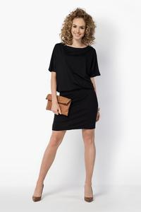 Black Pencil Skirt and Kimono Sleeves Dress