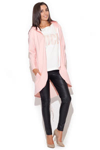 Pink Comfy Dweller Sweater Hoodie Blouse