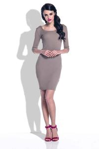 Cappuccino Knitted Bodycon Dress