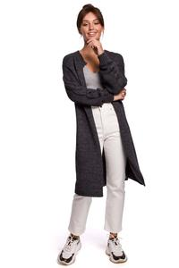 Long Cardigan without Clasp (Graphite)