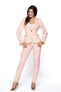 Powder Pink Elegant Women Suit