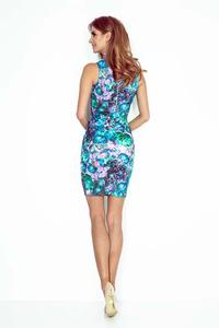 Green Bodycon Tourtleneck Dress