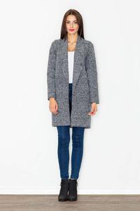 Dark Grey Classic Short Coat