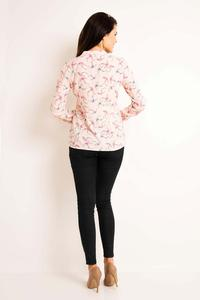 Pink Swallows Pattern Shirt