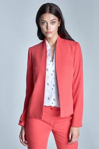 Coral Office Style Ladies Blazer