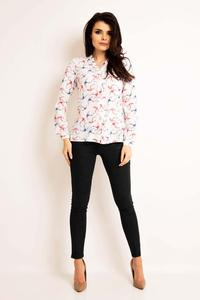 Ecru Swallows Pattern Shirt