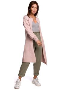 Long Cardigan without Clasp (Pink)