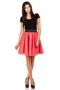 Raspberry Pink Dreamy Princess Tutu Prom Skirt
