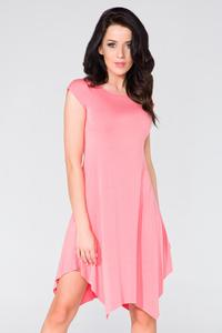 Pink Summer Asymetrical Dress