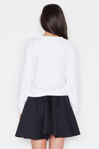 Black Light Pleates High Waist Mini Skirt