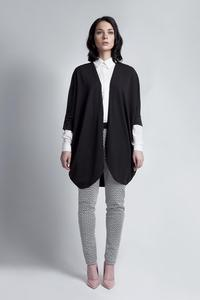 Black Bat Sleeves Loose Casual Cardigan