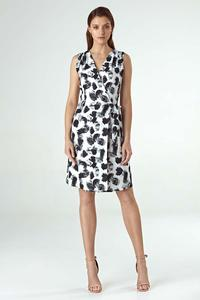 Patterned Summer Envelope Dress