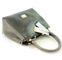 Grey Elegant Trunk Ladies Bag