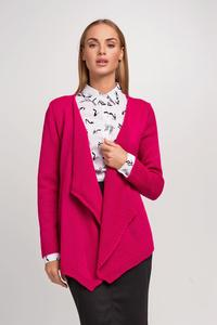 Amaranth Stylish Loose Lapels Cardigan