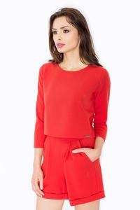 Red Chic&Stylish Open Back Ladies Jumpsuit