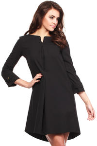 Black Good to Go Smart Dress